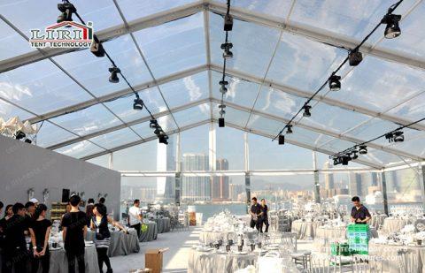 20m Transparent Roof Party Tent