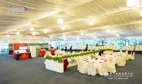 30×30 White Wedding Marquee Tent