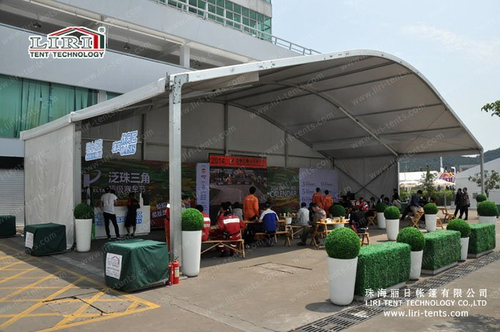 Together with the Pan Delta Super Racing Festival resumed Liri Tent makes its debut