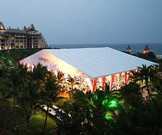 50 x 50 Large Wedding Tent