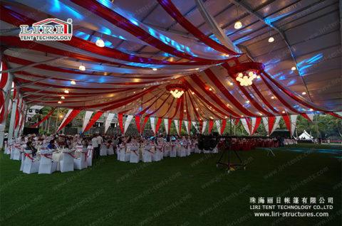 50×50 wedding tent size