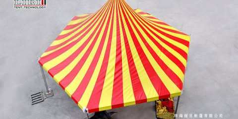 Liri Festival Tent for International Circus Festival