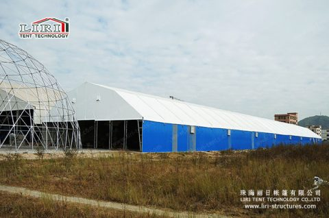 60m Steel Structure Industrial Tent