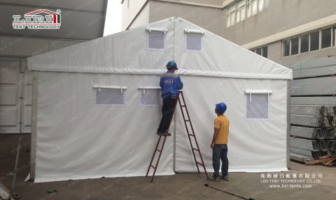 6×9 refugee tents