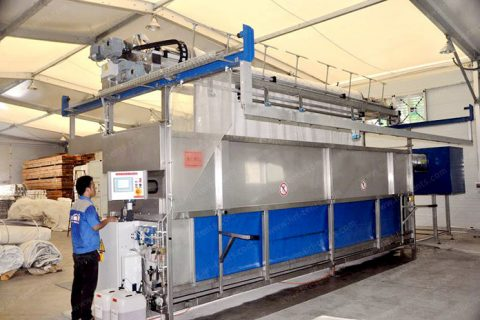 Automatic Washing Machine for Tent Fabric