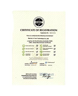 Certificate of GMC Registration