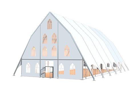 Church Tent 3d