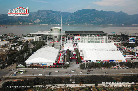 Commercial Exhibition Tent for car show