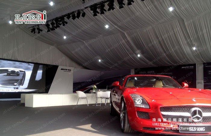 Auto Expo Exhibition Tent & Exhibition Tent for Auto Show - Liri Tent Structure
