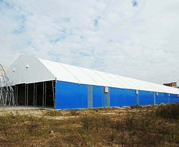 Steel Structure Tent Used For Storage