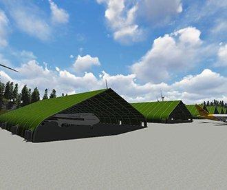 TFS Series Aircraft Hangar Tent
