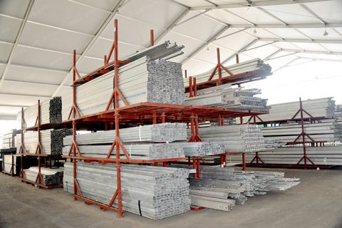Tent Rental for Warehouse