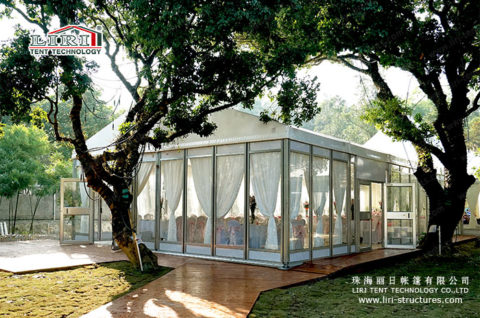 Wedding Reception Tent with floor