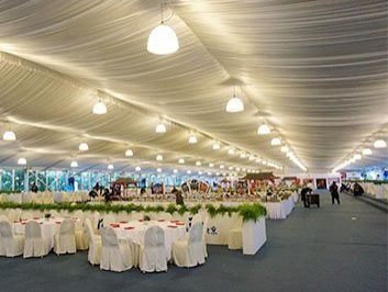 White Wedding Marquee Tent