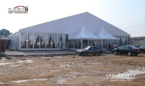 White Wedding Marquee Tent in Australia