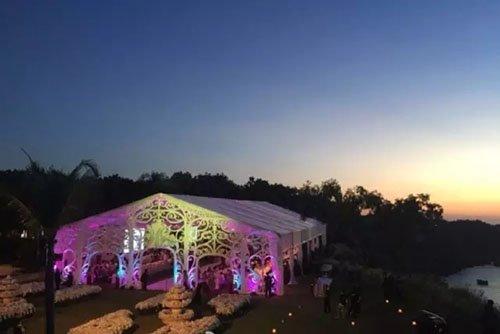 Wu Qilong and Liu Shishi held a big wedding party