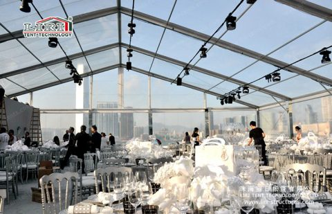 buy Transparent Roof party tent