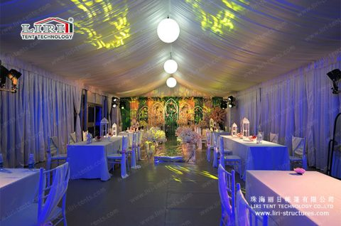 buy a clear wedding tent