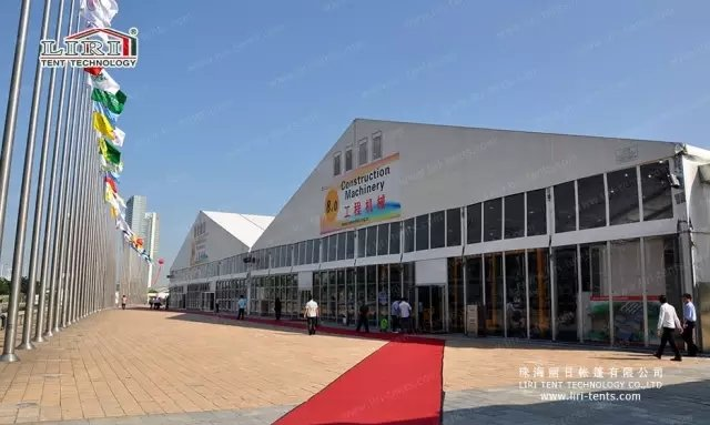 Liri Trade Show Tent For Canton Fair