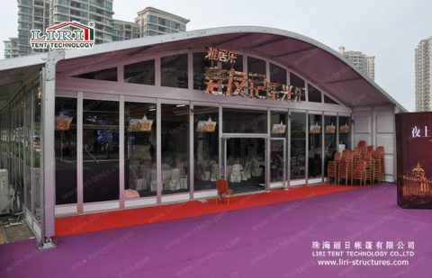 concert hall tent for party
