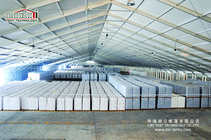 To Achieve Green New Mobile Storage Warehouse Tents