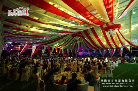 large wedding tent for 2000 people