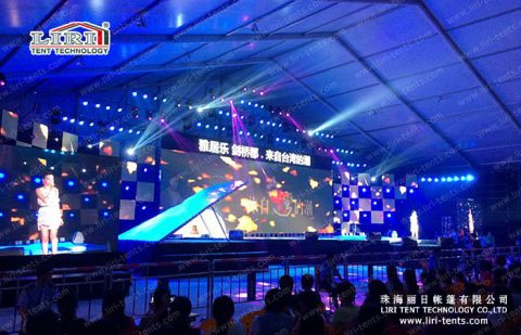 outdoor Music Festival Event Tent