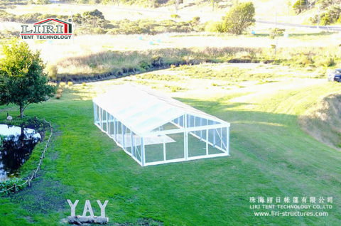 outdoor transparent wedding tent sale