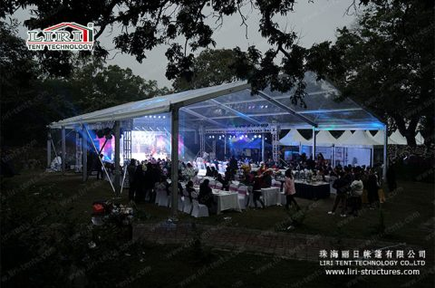 outdoor wedding tent ideas & 10 x 30 Outdoor Clear Wedding Marquee - Liri Tent Structure
