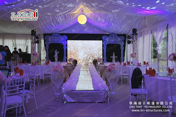 How To Decorate For Wedding Reception Under A Tent Liri