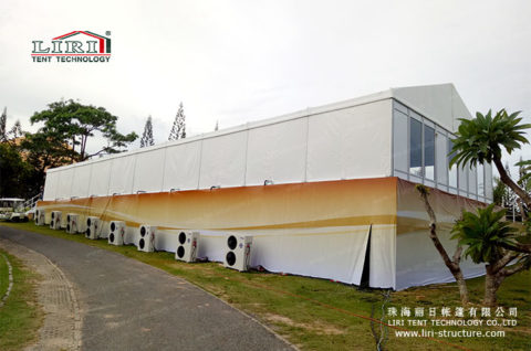 10×30 white party tent