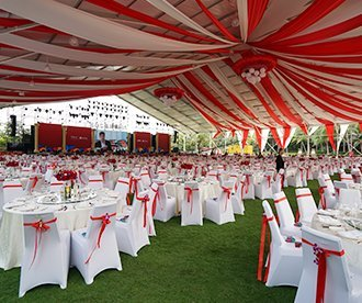 Outdoor Party Marquee Tent for 2000 People