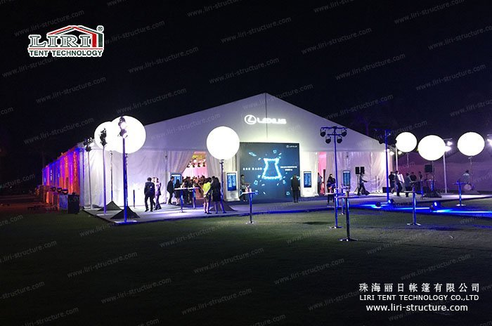 White Event Marquee for Sale & White Event Marquee Purchase - Liri Tent Structure