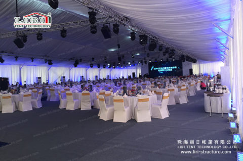 large white event tent