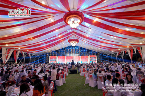 party tent marquee with sides