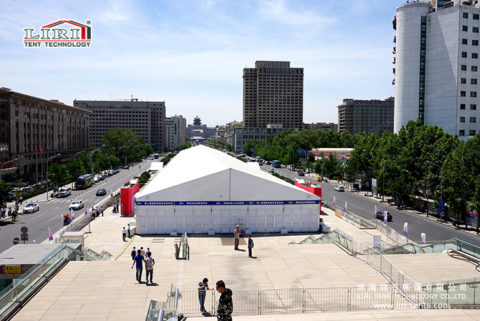 20m Exhibition Tent with ABS wall