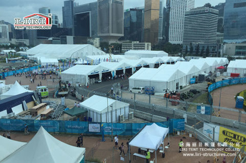 20×20 event tent for car show for rental