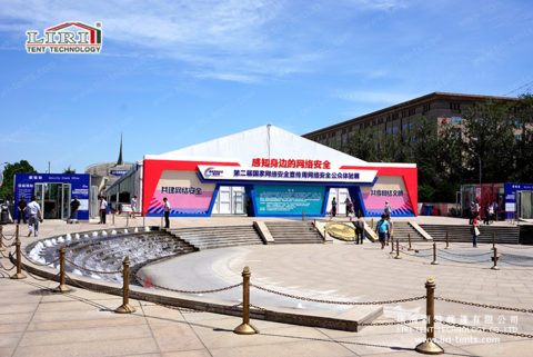 exhibition tents for outdoor trade show