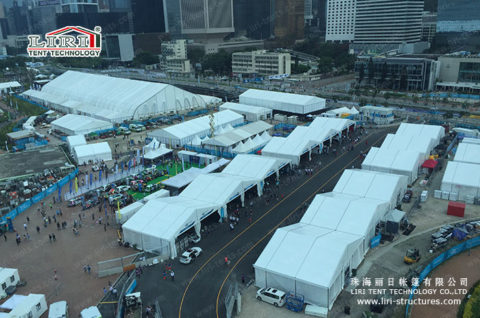 outdoor car event tent rental