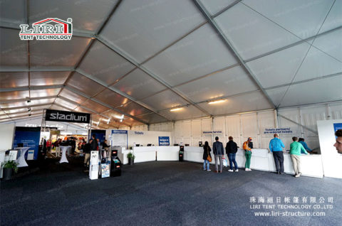 20m Exhibition marquee tents