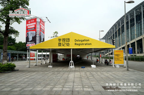 Chinaplas Outdoor Exhibition Tents Supplier