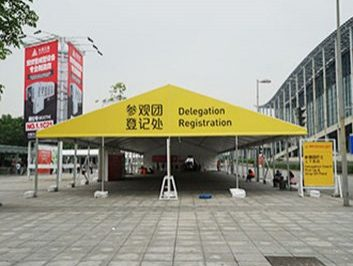 Outdoor Exhibition Tents for Chinaplas