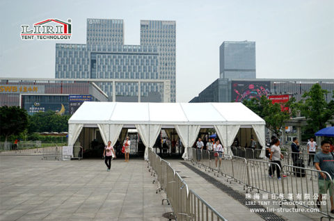 Outdoor Exhibition for security inspection