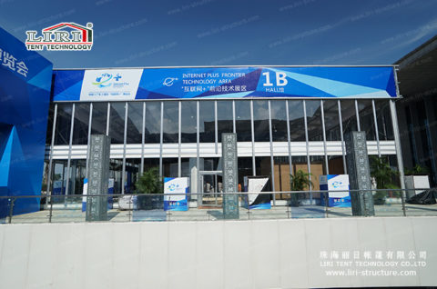 outdoor Temporary Exhibition tent hall