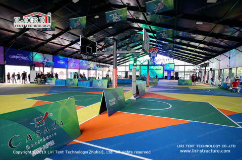 Fabric Indoor Sports Structures