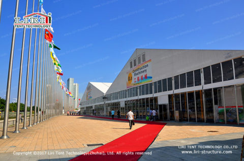 Canton Fair temporary exhibition structures