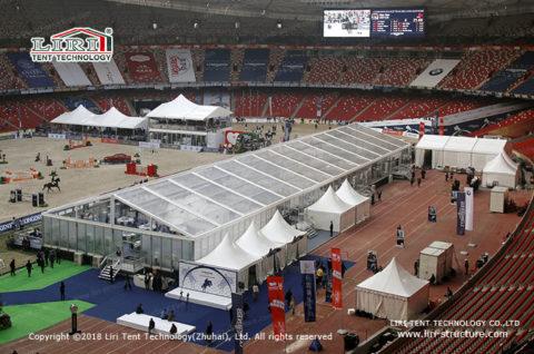 International Equestrian Beijing Master tent