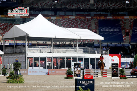 two story tent for outdoor event