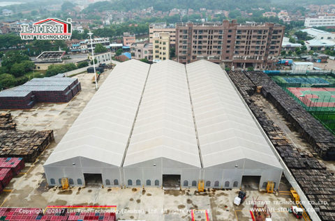 Large outdoor Temporary Warehouse Buildings