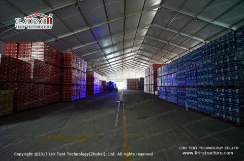 Warehouse tent introduce